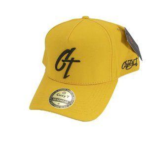 Cuzy T Men's Yellow/Black CT Snap Back Cap